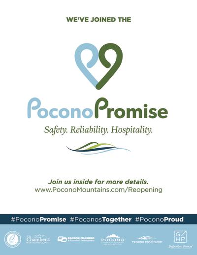 Pocono Promise Door Sign