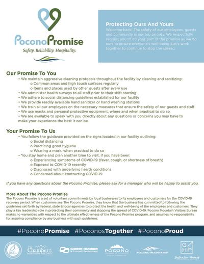 Pocono Promise Protecting Our and Yours