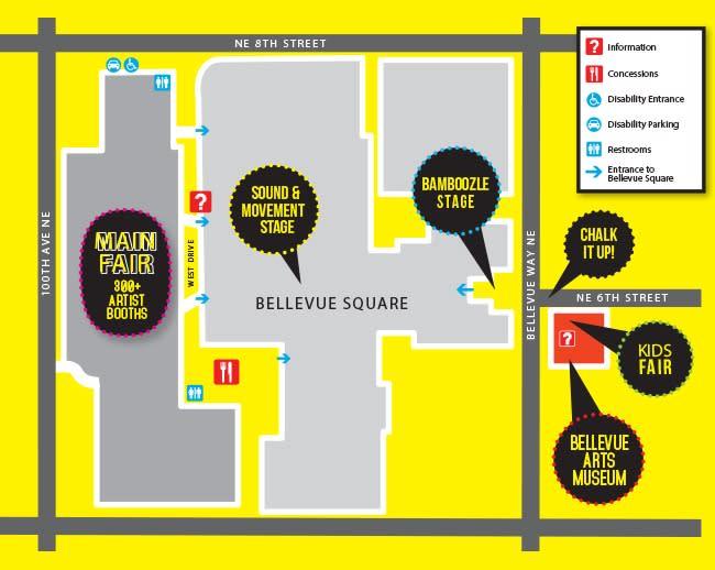 2019 ARTSfair Map