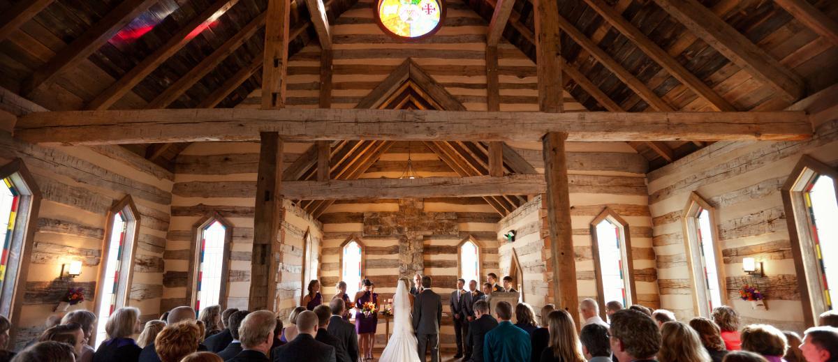 Oak Lodge Wedding Pic