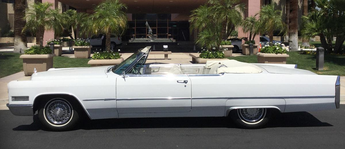 palm springs vintage car