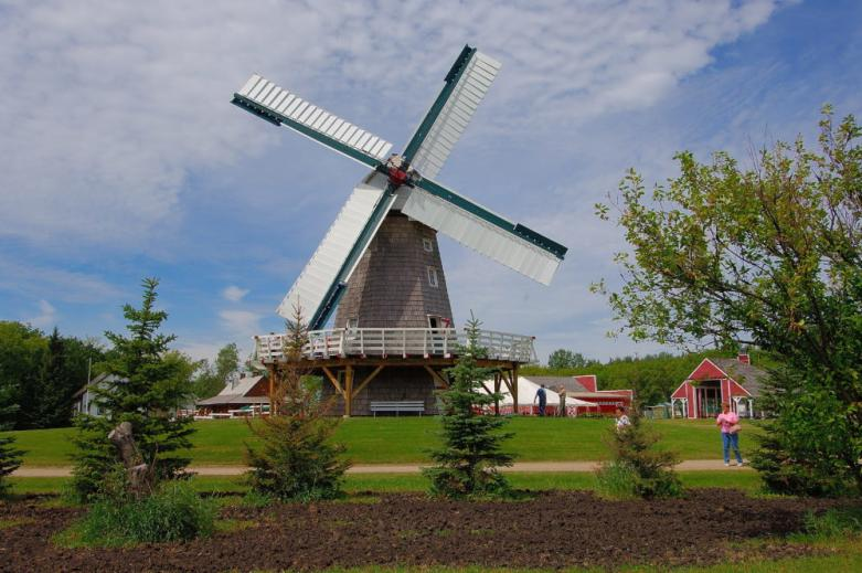 Windmill at Steinbach's Mennonite Heritage Village