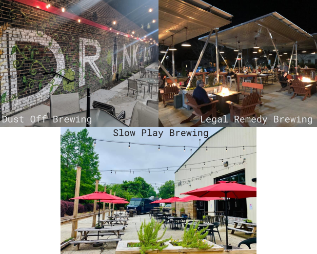 Brewery Patios