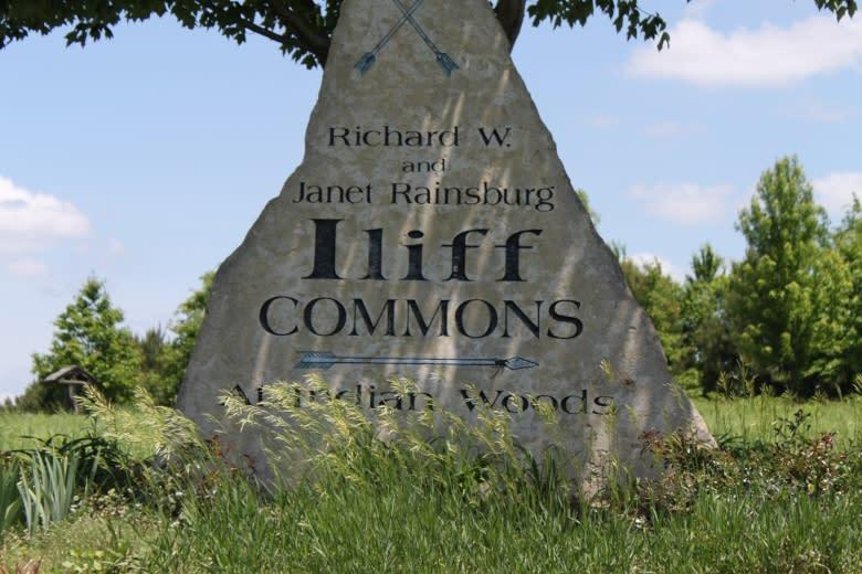 Iliff Commons Sign