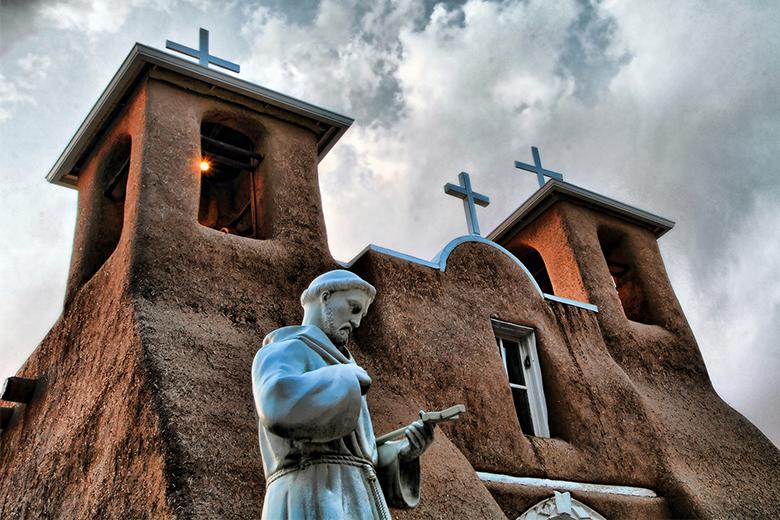 San Francisco De Asis Mission Church; Ranchos De Taos