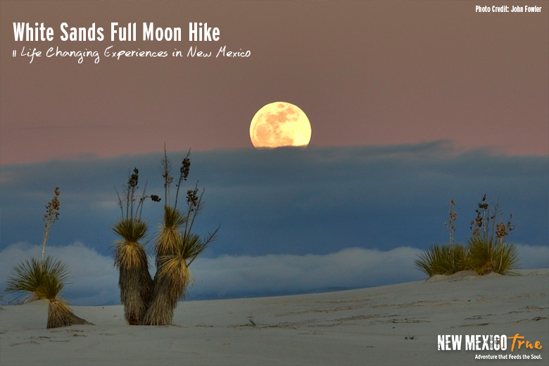White Sands Full Moon Hike
