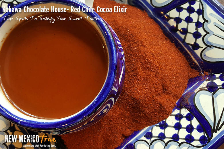 Red Chile Cocoa Elixir from Kakawa Chocolate House; Santa Fe