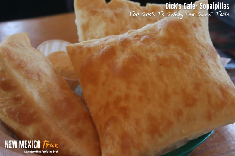 Sopaipilla from Dick's Café, Las Cruces