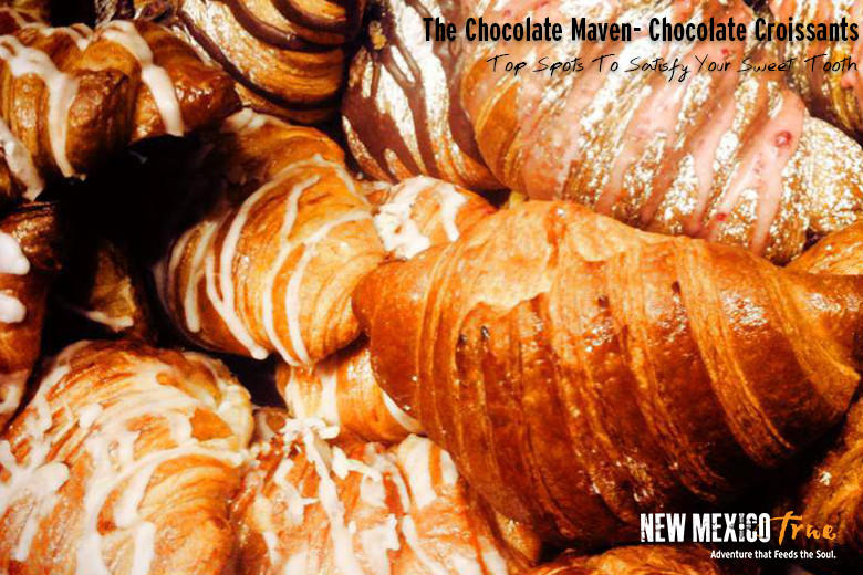 Chocolate croissants from the Chocolate Maven Bakery & Café; Santa Fe