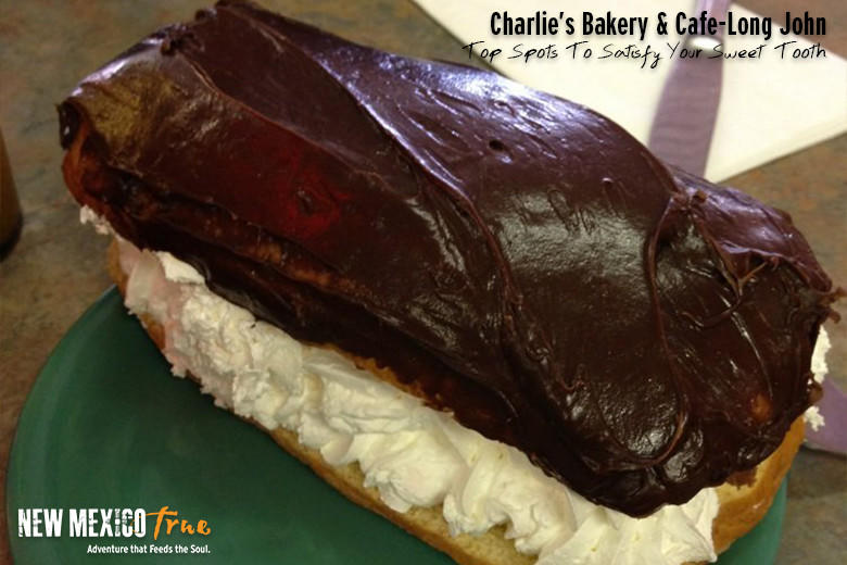 Long Johns (AKA chocolate éclairs) from Charlie's Bakery; Las Vegas