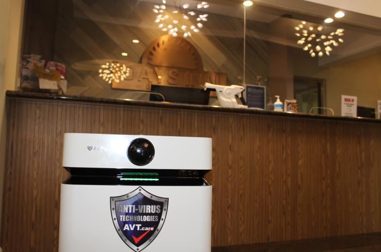 Freshest air with the Airdog air purifier