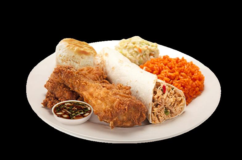 KFC BBQ plate