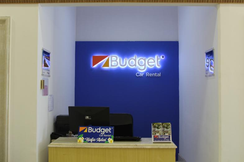 Budget Car Rental available