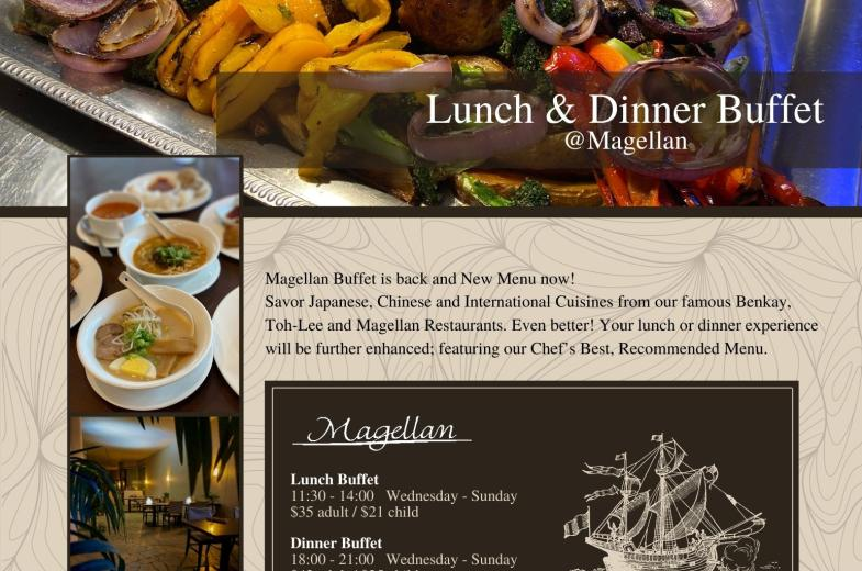 Lunch and Dinner Buffet Price