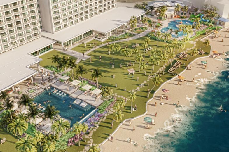 Pool Crowne Plaza Guam
