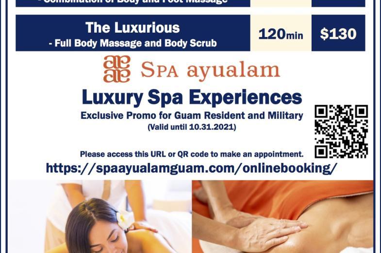 Spa Ayualam Special