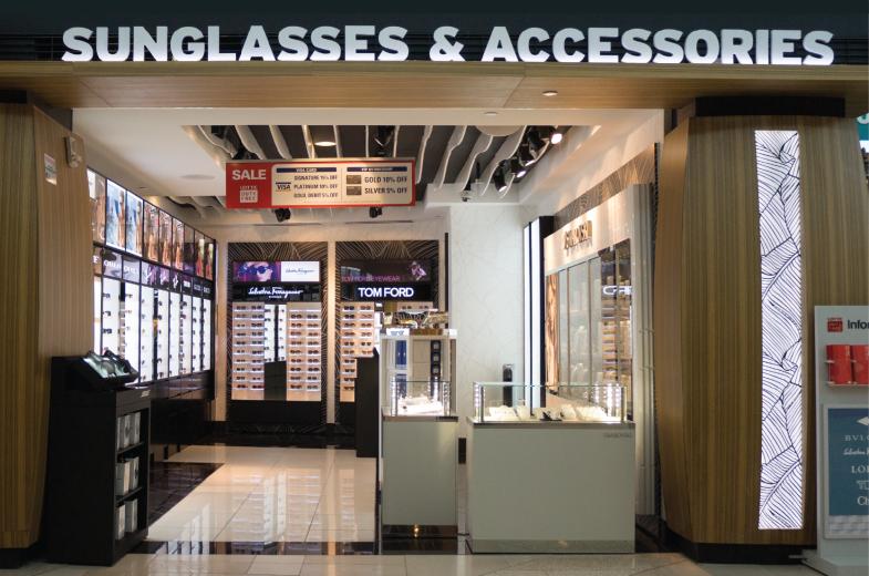 Lotte Duty Free Guam Airport Sunglasses & Accessories Pad