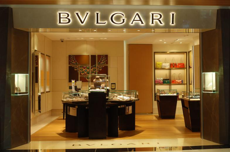 Bvlgari boutique