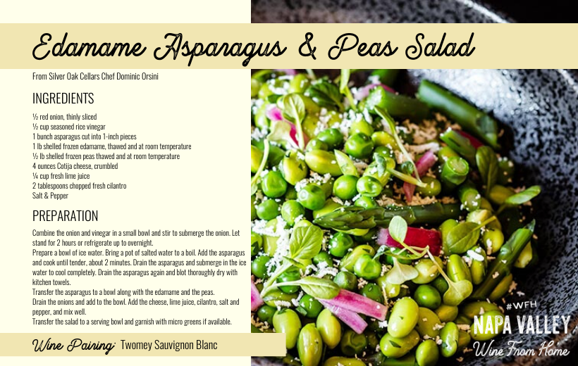 Recipe Card: Edamame Salad
