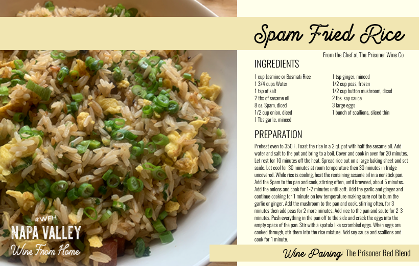 Recipe Card - Spam Fried Rice