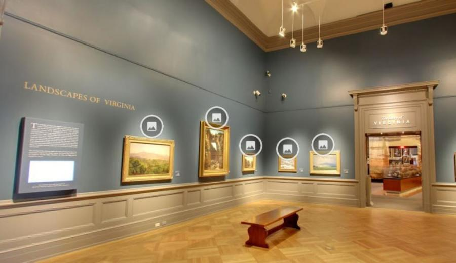Virginia Museum of HIstory and Culture virtual tour