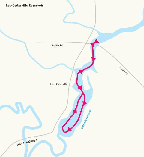Paddle Trip: Leo-Cedarville Reservoir