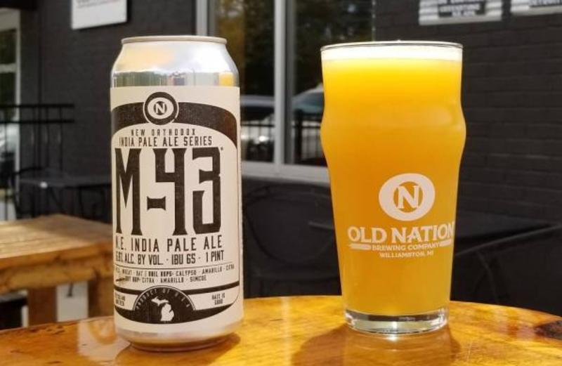 M-43 Old Nation beer