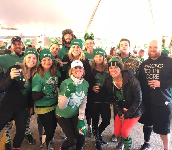 each year Molly Malone's hosts the region's largest st. patrick's day celebration in covington ky