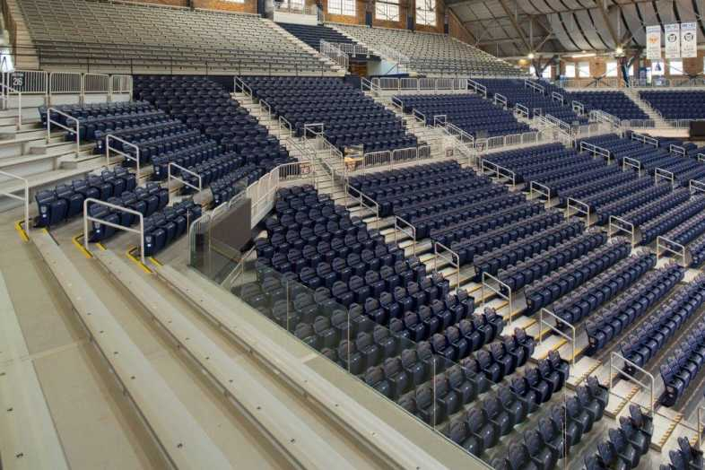 Basketball Bleachers - Butler University - 5