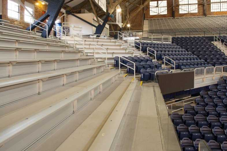 Basketball Bleachers - Butler University - 4
