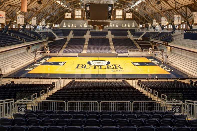 Basketball Bleachers - Butler University - 1