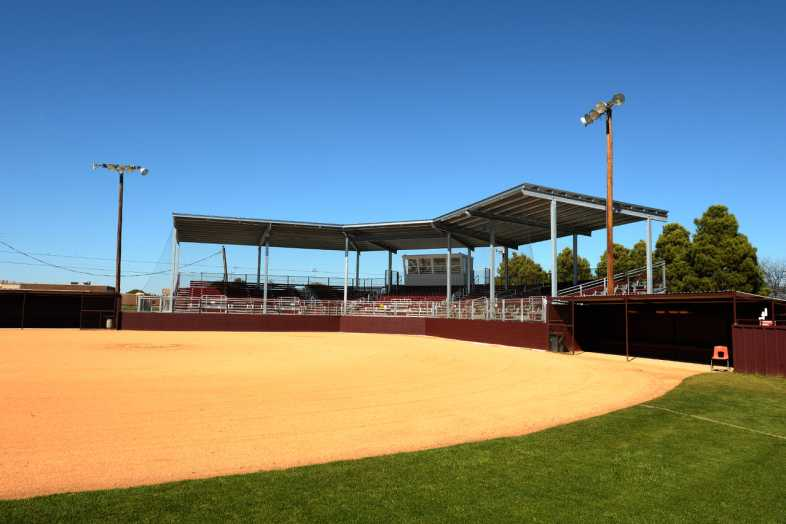 Brownwood Independent School District - Softball Stadium - 4