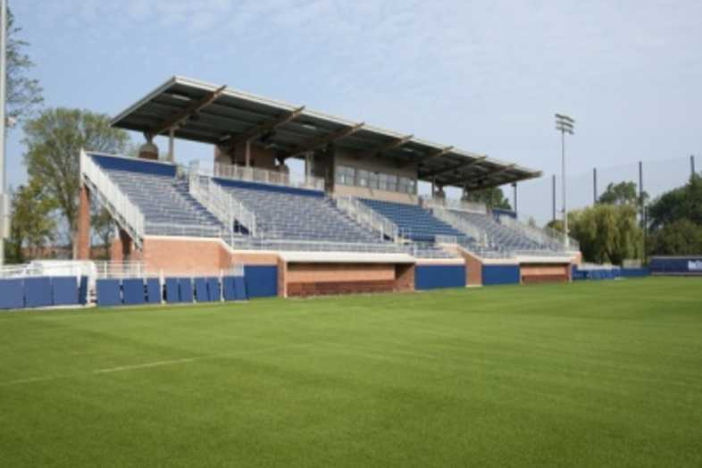 Bleachers - University of Michigan Soccer Field