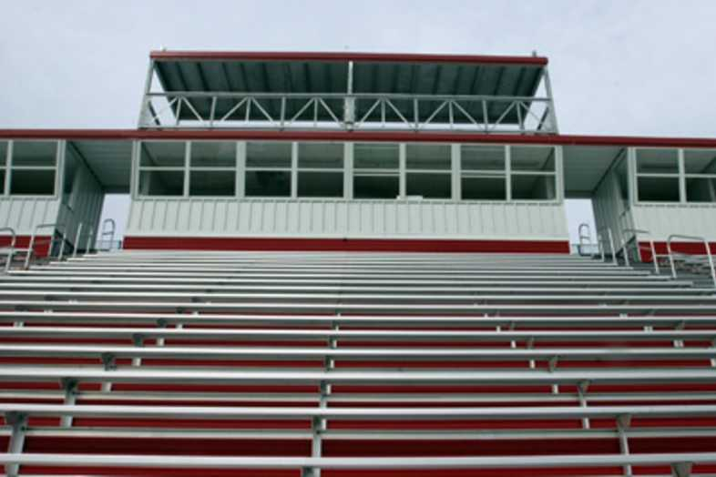 Football Bleachers - Webb City R-7 School District