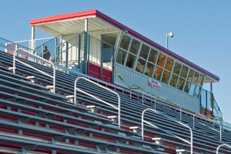 Football Bleachers - Vicksburg High School