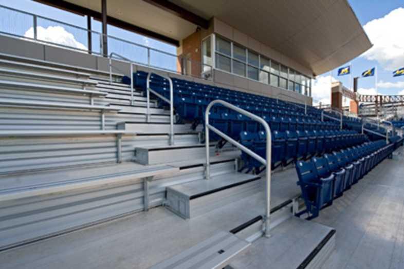 Softball Bleachers - University of Michigan