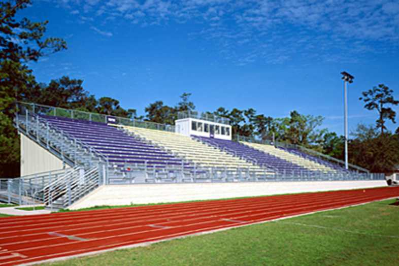 Football Bleachers - Kincaid School (Houston, TX)
