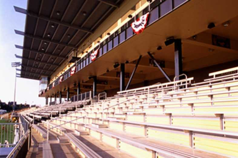 Football Bleachers - Southwest Minnesota State University