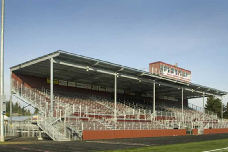 Football Bleachers - Sherwood School District 88J