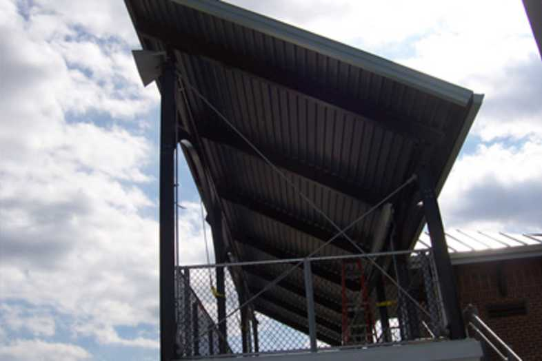 Football Bleachers - Rowan University