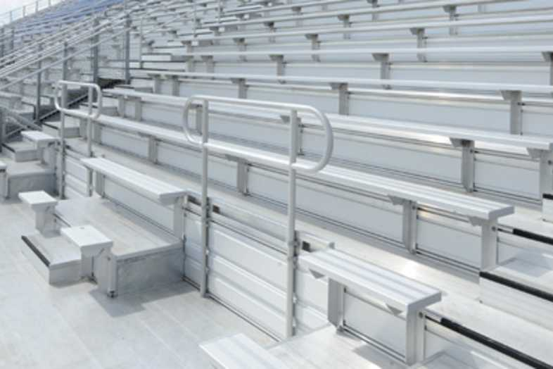 Football Bleachers - Rogers School District