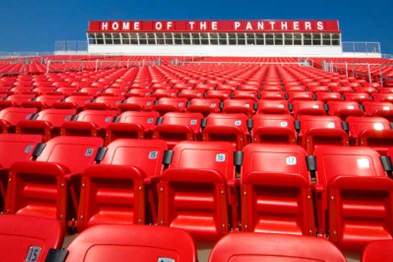 Football Bleachers - Petal School District