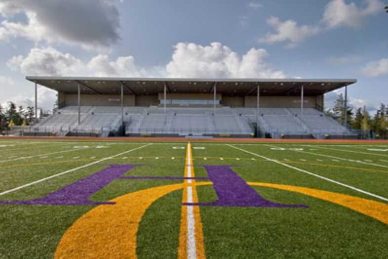 Football Bleachers - Oak Harbor School District