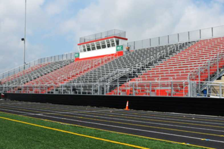 Football Bleachers - Mason County Board of Education