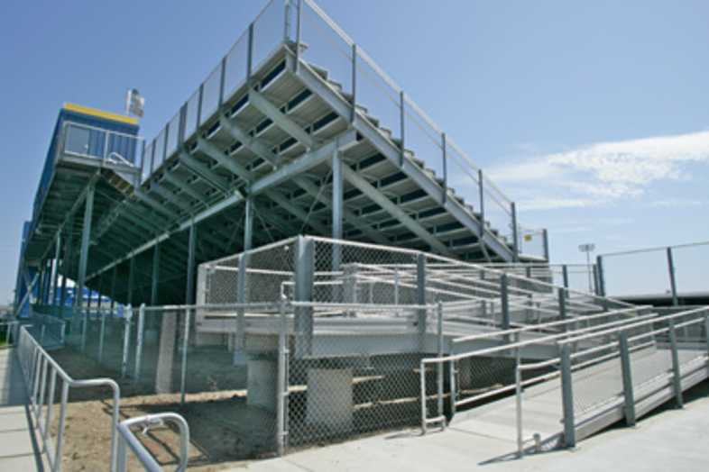 Football Bleachers - Los Angeles Southwest College