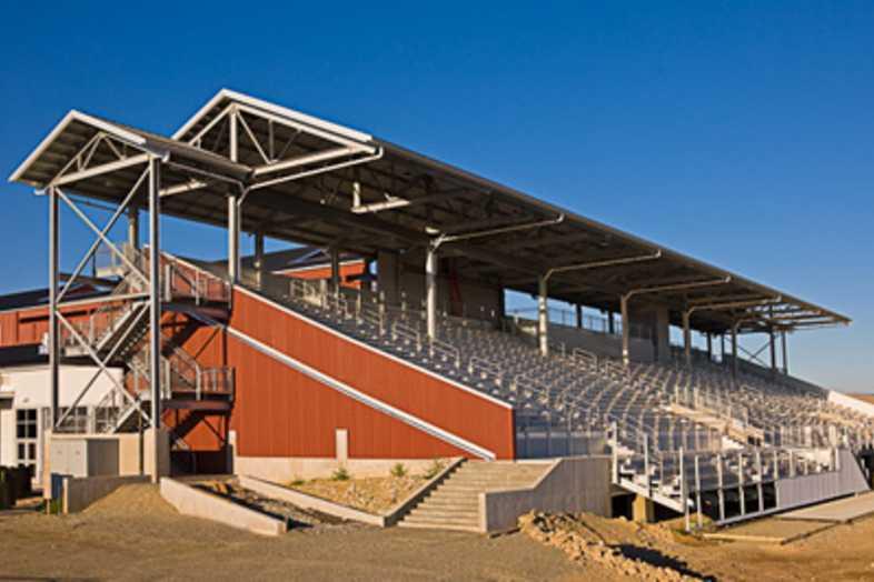Fairgrounds Bleachers - Lewis & Clark Fairgrounds