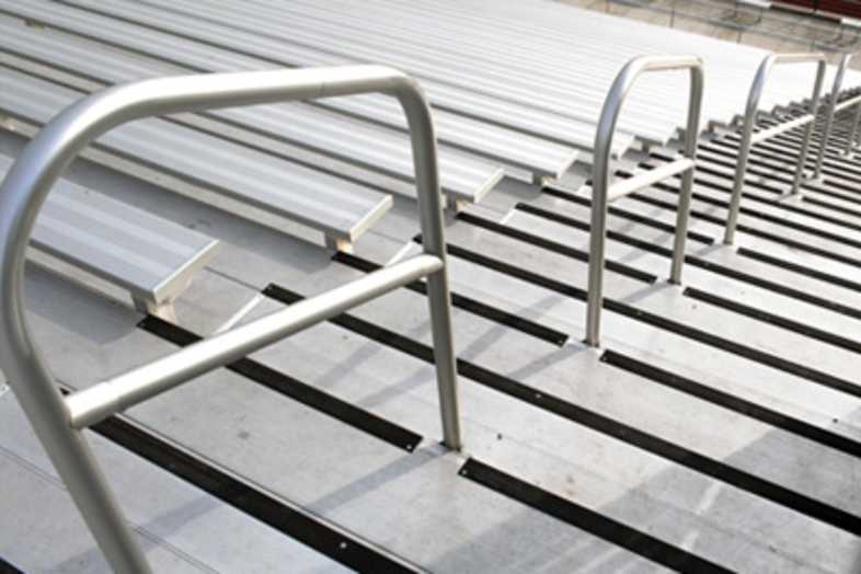 Football Bleachers - Kingsburg Joint Union District