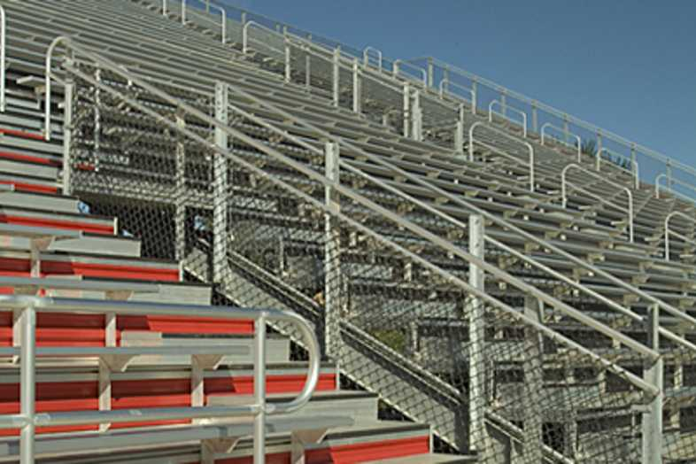 Football Bleachers - Kentwood Public Schools