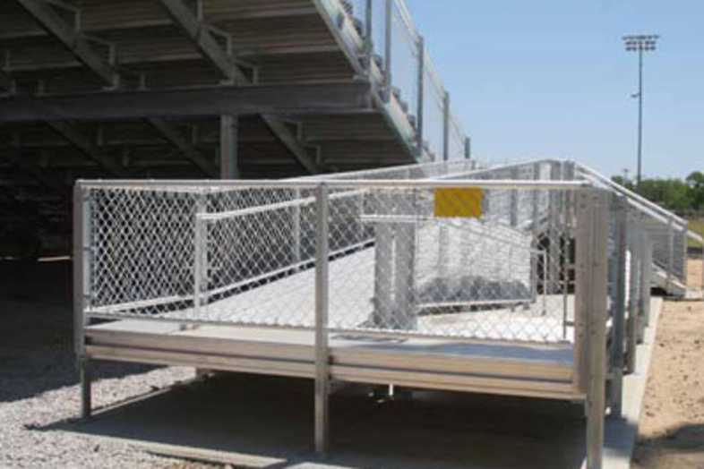 Football Bleachers - Darlington County School District