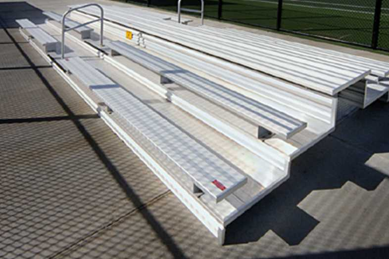 Bleachers - 3 Row Non-Elevated Bleachers
